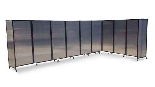 Acoustic Portable Room Divider Polycarbonate