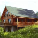 Amish Built Log Home Mile View Homeaway Mount Pocono