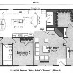 Bedroom Mobile Home Floor Plans Plan Click For Floorplan