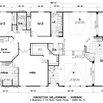 Bedroom Modular Home Floor Plans Image Galleries Imagekb
