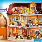 Big Doll House Playmobil Juguetes Puppen Toys