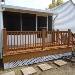 Big Mobile Home Steps And Decks White Taupe House Decor Images