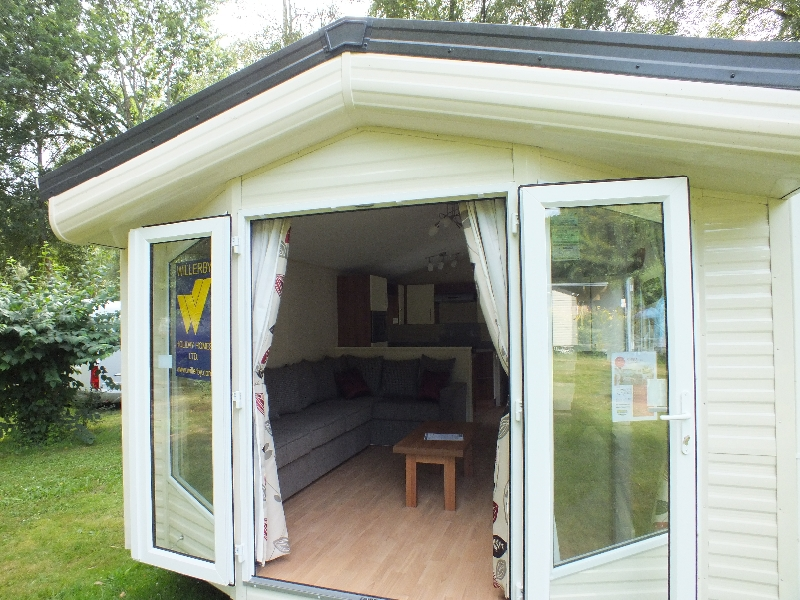 Both The Mobile Homes Have Stock Include Outlook French Doors