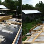 Building New Roof For Mobile Home