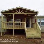 Building Small Porch For Mobile Home Design Gallery Homes
