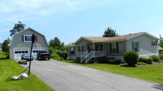 Burnham Maine Doublewide Mobile Home Real Estate For Sale