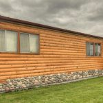 Cabin Siding For Manufactured Homes Don Like The Porch But