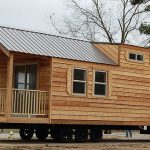 Cabin Style Mobile Home Wheels Airstream Pinterest