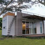 Casa Cubica Container Home Exterior Tiny House Humble Homes