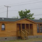 Cedar Log Mobile Home Sided Homes Pinterest