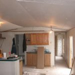 Ceiling Installed From Mobile Home Repair And Handyman Service