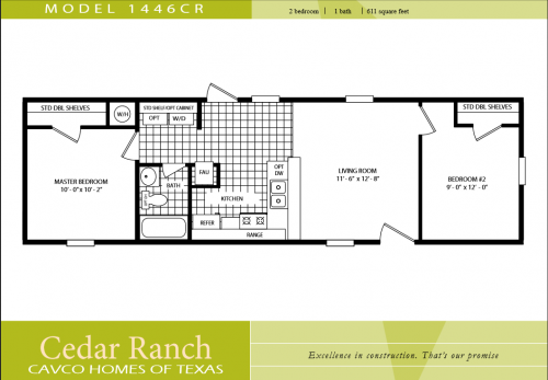 Champion Homes Single Wides Floor Plans Manufactured Sale