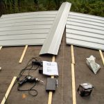 Choice Over The Ayr Foil Covered Roof Install Metal Roofing