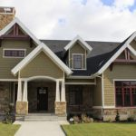 Craftsman Style Exterior Home