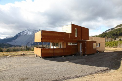 Crowsnest Modular Home Challenger Canad Simbiosis News