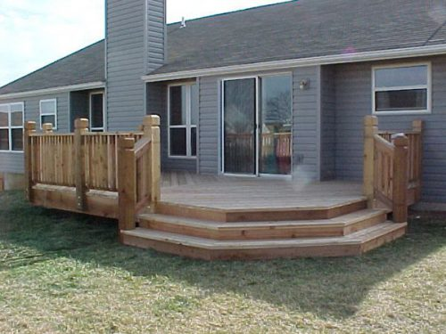 Decks Backyards Ideas Mobiles Home