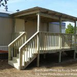 Designs For Mobile Homes Home Porch And Porches