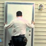 Diy Out Swing Exterior Door Mobile Home Parts Store Youtube