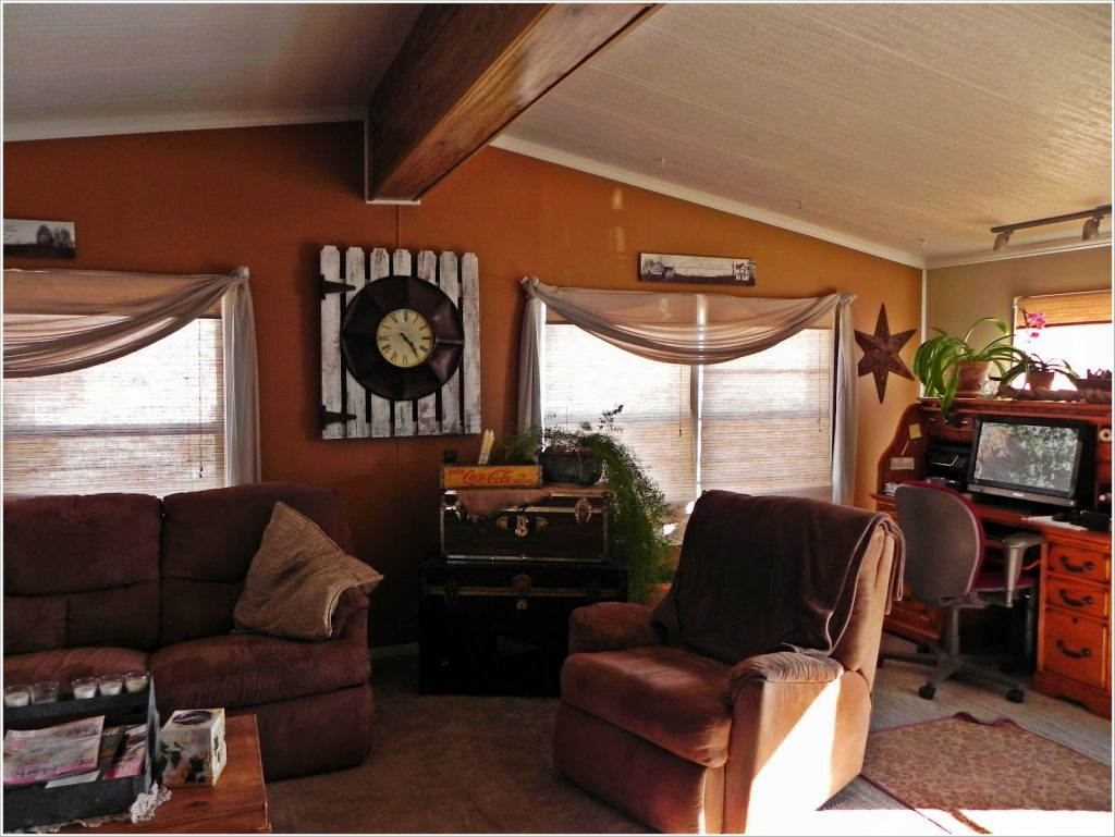 Double Wide Makeover Ideas Living Room After