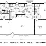 Double Wide Mobile Home Floor Plans Bedroom Plan