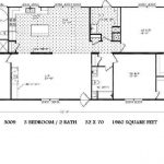 Double Wide Mobile Home Floor Plans Sequoyah Single