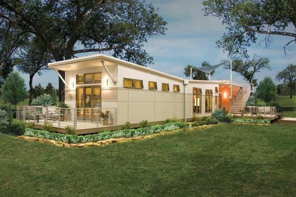 Eco Friendly Green Modular Homes Mother Earth News