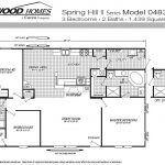Fleetwood Manufactured Home And Mobile Floor Plans Gallery
