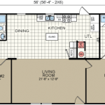 Floor Plans For Cheap Double Wide Mobile Homes From Redman