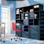 Foremost Modular Large Shelf Cube Storage System Black Ebay