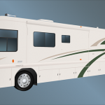 Free Vector Graphic Mobile Home Bus Travel Trip Image