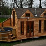Glamper Tiny Houses Built Hot Tubs For Luxurious Vacationing