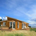Green Prefab Homes Modern Material Waste