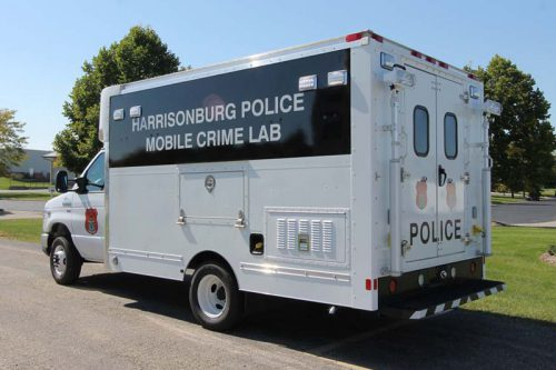 Harrisonburg Police Department Mobile Crime Lab