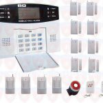Home Security Alarm System Intelligent Mobile Call Gsm