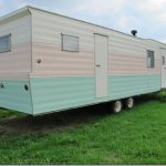 Home Vintage Time Capsule Rollohome Mobile Trailer For