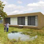 Ideas Modern Green Prefab Homes Nest Box