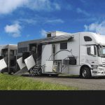 Inter Horse Truck Mobile Home