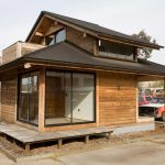 Jetson Green Simple Post And Beam Prefab Live Edge