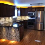 Kitchen Renovation Believe Not This Mobile Home