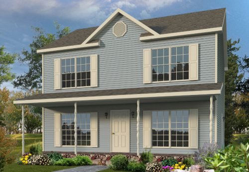 Klondike Two Story Style Modular Homes