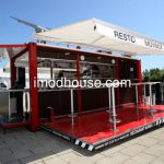 Large Image Portable Mobile Shop Made From Modified Container House