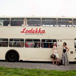 Lodekka British Double Decker Bus Transformed Into Vintage