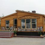 Log Cabin Double Wide Mobile Home Ideas Pinterest Homes