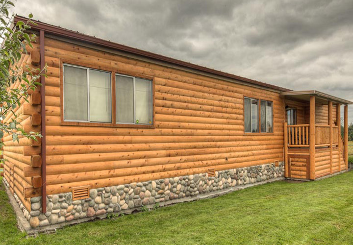 Log Cabin Siding For Mobile Homes Quotes
