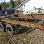 Log Needed Mobile Home Frame And Axle