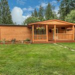 Log Siding Custom Railings Manufactured Home