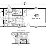 Manufactured And Mobile Homes Small House Floor Plans