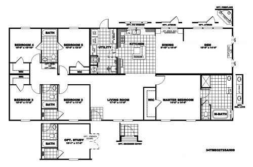 Manufactured Home Floor Plan Clayton Mountaineer Tms