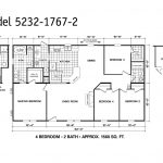 Manufactured Home Floor Plan Clayton Oakwood Platinum