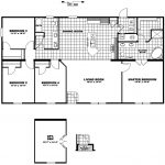 Manufactured Home Floor Plan Clayton The Blue Ridge